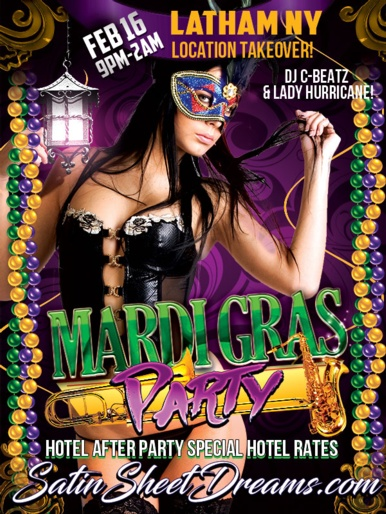 Mardi Gras Party 2019