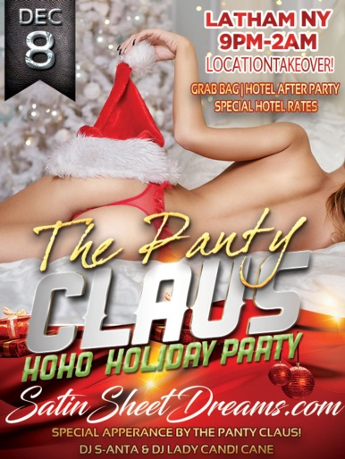 The Panty Clause Party - 2018